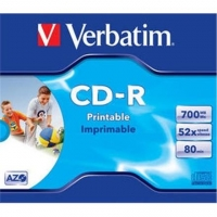 Verbatim CD-R AZO Wide Printable 0.7 GB