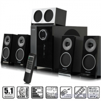 Microlab M-1910 5.1 Speakers/ 65W RMS/ Remote/ Black