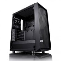 Fractal Design Meshify C FD-CA-MESH-C-BKO-TG Side window