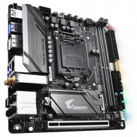 Gigabyte Z390 I AORUS PRO WIFI Processor family Intel